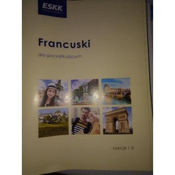 Francuski dla początkujących - kurs ESKK