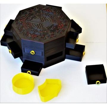 Miraculous Box Biedronka i Czarny Pudełko Miraculu