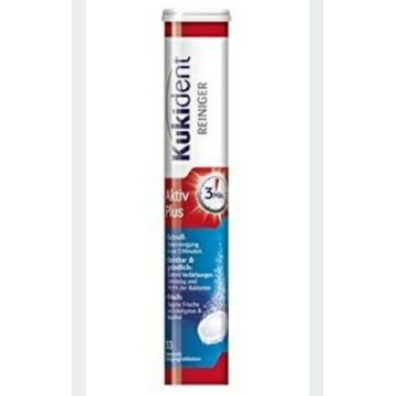 Tabletki musujące do czyszczenia protez Kukident