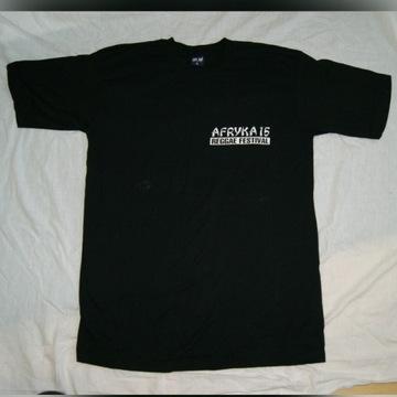 AFRYKA REGGAE FESTIVAL - Toruń 2005 tshirt nowy XL