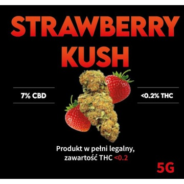 Susz CBD Strawberry Kush  1g