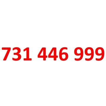 731 446 999 starter play ładny złoty numer