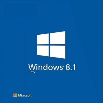 KLUCZ SYSTEM OPERACYJNY MICROSOFT WINDOWS 8.1 PRO