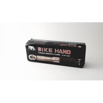 Bike Hand (BLOKADA!) 2-24Nm klucz dynamometryczny