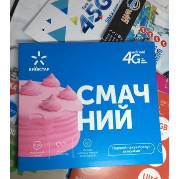 Kyivstar SIM Karta +380 Ukrainia SiM prepaid card