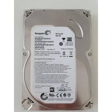 Dysk twardy HDD 500GB 3,5 SATA III 8 SZT
