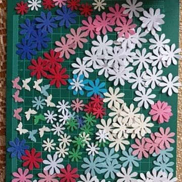 Motyle motylki scrapki dekoracje ślubne 30- szt