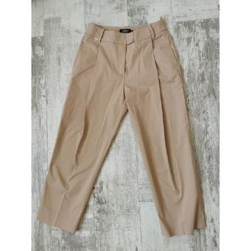 Spodnie Simple beżowe slouchy kuloty 36 S