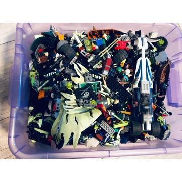 Klocki LEGO, 8,5 kg, 45 zestawów + instrukcje