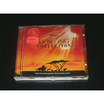 Disney Lion King Collection CD Król Lew SOUNDTRACK