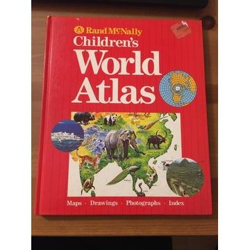 UNIKAT ANGIELSKI ATLAS DZIECIĘCY Z 1989