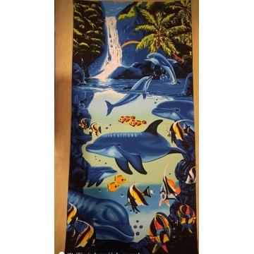 Ręcznik plażowy-kąpielowy duży 70/140