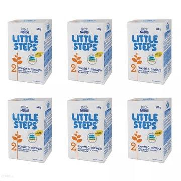 NESTLE LITTLE STEPS 2 mleko następne 6x600g