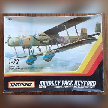 1:72 Handley Page Heyford Mk I/II/III Matchbox '89