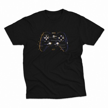 #GAMEPAD koszulka męska gaming gry video konsola