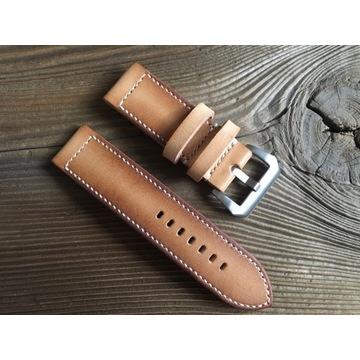 Pasek do zegarka Panerai handmade skóra 26 mm