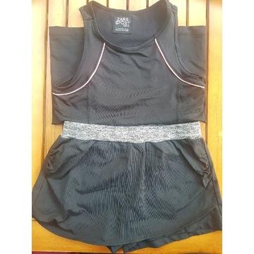 Zara sport girls spodenki 140 cm. Koszulka gratis