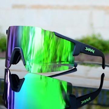Okulary rowerowe/do biegania prezent dla aktywnych
