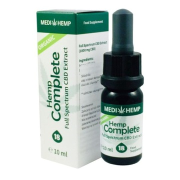 Hemp Bio Olejek konopny Cbd Complete 18% 10 ml