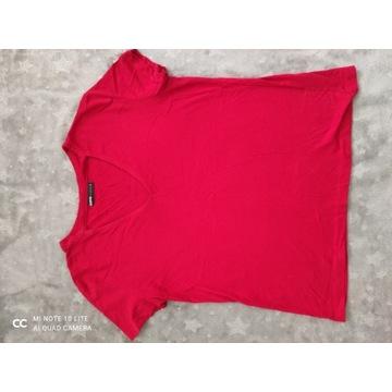 Czerwony  koszulka firmy Cropp  R. S