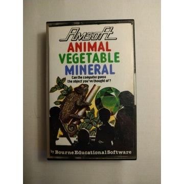 GRA AMSTRAD CPC ROM ANIMAL VEGETABLE MINERAL