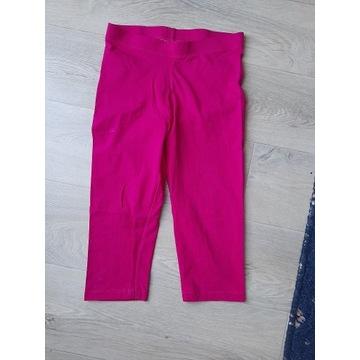 PEPPERTS krótkie różowe legginsy 146/152