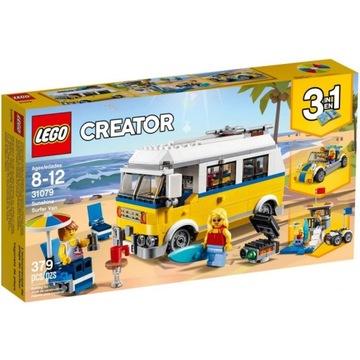 NOWE LEGO Creator Van surferów 31079 camper kamper