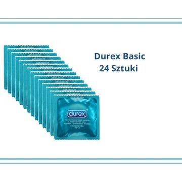 Durex Basic 24 sztuki