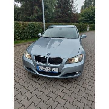 Zderzak BMW E90 / E91 LCI, PDC, xenon Bluewater