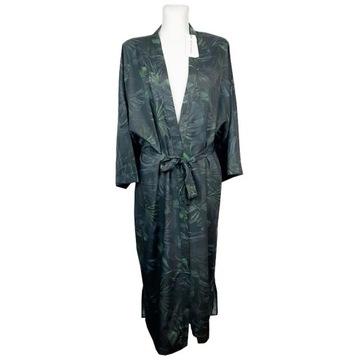 Ahlvar Gallery kimono wiązane dżungla M L szlafrok