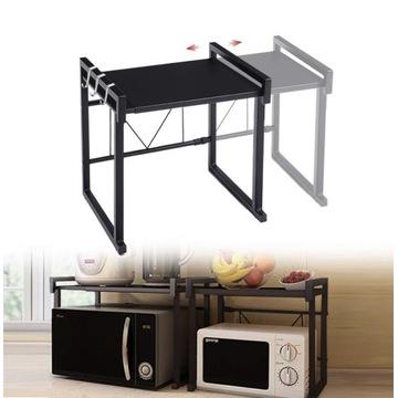 Półka stojak nad kuchenkę mikrofalową