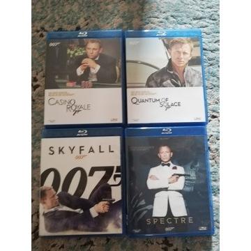 James Bond Kolekcja 4 filmów