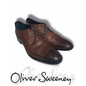 Oliver Sweeney luksusowe brogsy hand made 44 45 10