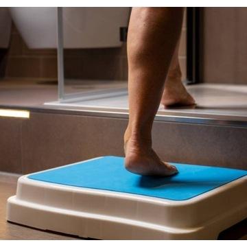 Stopień do łazienki do 189 kg, firmy UPP