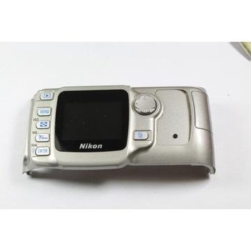 Nikon D50 obudowa tył srebrna