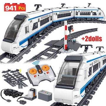 Szybki pociąg elektryczny Creator dla dzieci