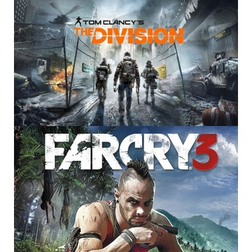 Tom Clancy's The Division, Far Cry 3 konto UPLAY