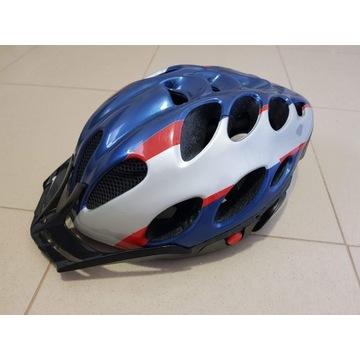 Kask rowerowy MTB Mango granatowy