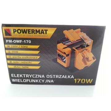 Ostrzałka Wielofunkcyjna POWERMAT PM-OWF-170 3w1 1
