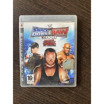 SMACK DOWN VS RAW 2008 PS3