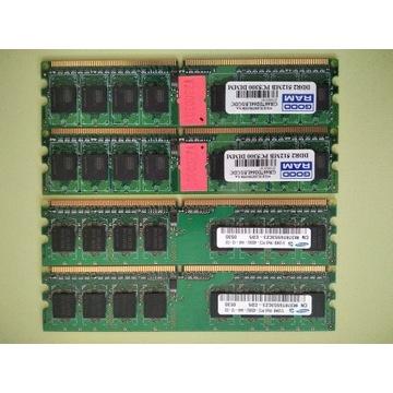 4 x 512MB - 2GB DDR2