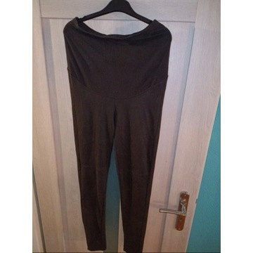Getry legginsy czarne spodnie ciążowe r 38/M H&M l