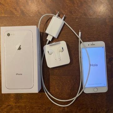 Iphone 8 64 gb, biały, stan idealny