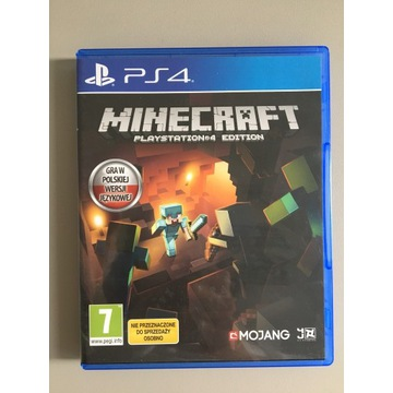 "Gra na PS4 ""Minecraft"""