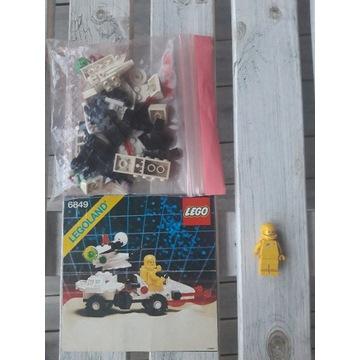 Lego Space 6849 Satellite Patroller 100% KOMPLET