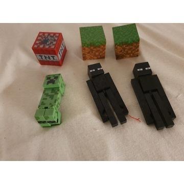 Figurki minecraft