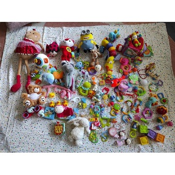 Zabawki niemowlęce na początek