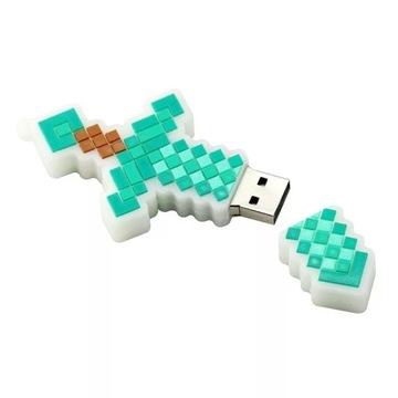 Minecraft miecz Pendrive USB 64 GB wysyłka PL