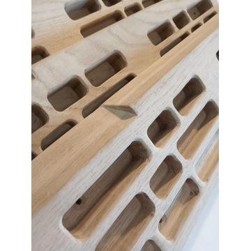 Chwytotablica drewniana - dębowa