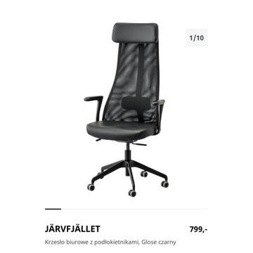 RABAT 30 % 8 Krzeseł biurowych z podłokietnikami,